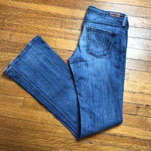 Fantastic condition AG Boot cut Merlot jeans